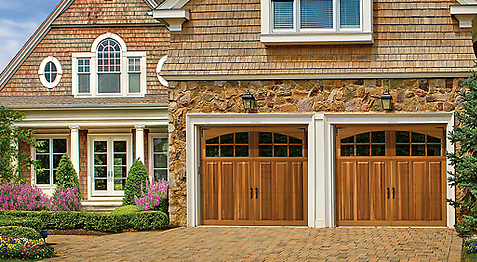 carriage style garage doors just make your home look gorgeous your neighbors will become envious but let them know about alan conkling garage doors in